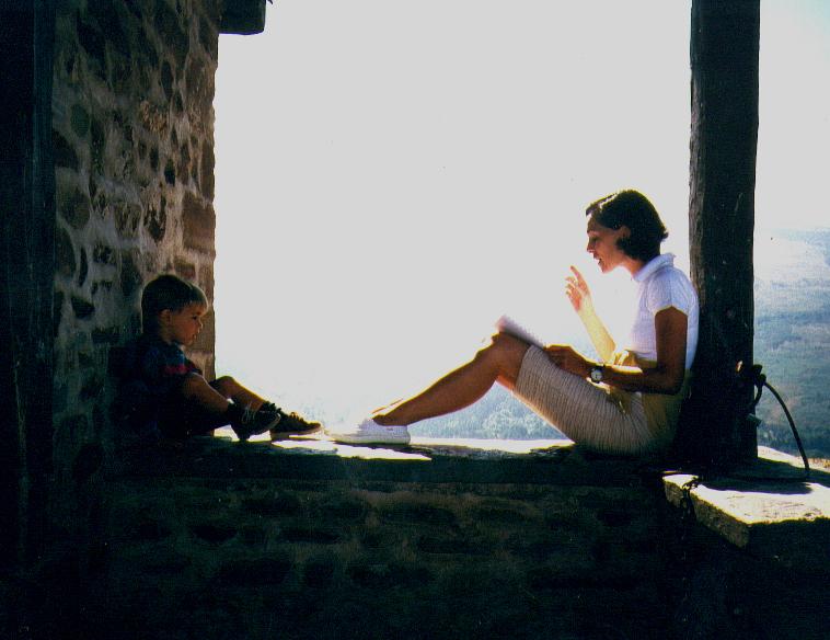 Santa Bárbara, Ezcaray. 1999. Foto J.M. Gimferrer copia