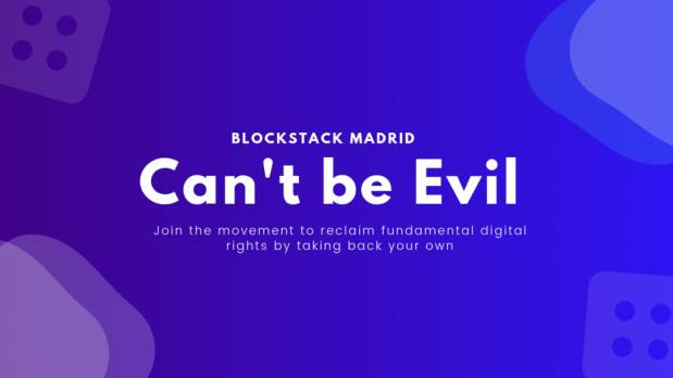 Bockstack-Can't be evil poster