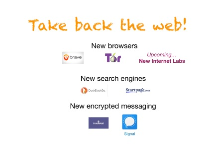 TAKE BACK THE WEB 2 Privacy and Security
