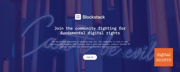 Blockstack-digitalRIGHTS